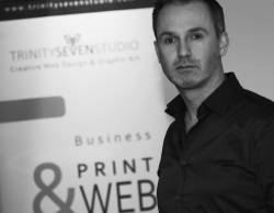 Will Quigley - Managing Director TrinitySeven Studio Ltd, Ashbourne, Co.Meath