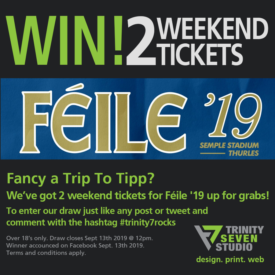 Competition Time - Win 2x Weekend Tickets to Féile'19