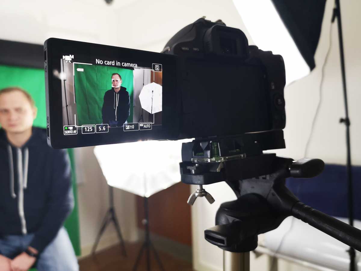 Video Green Screen now available for Company Promo Videos