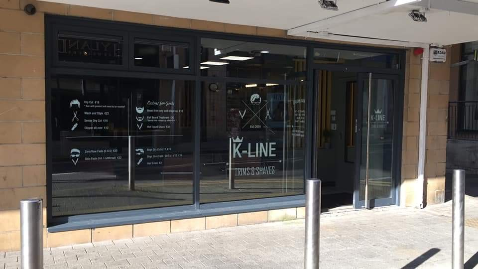 K-Line Barbers... Creating a cutting edge brand