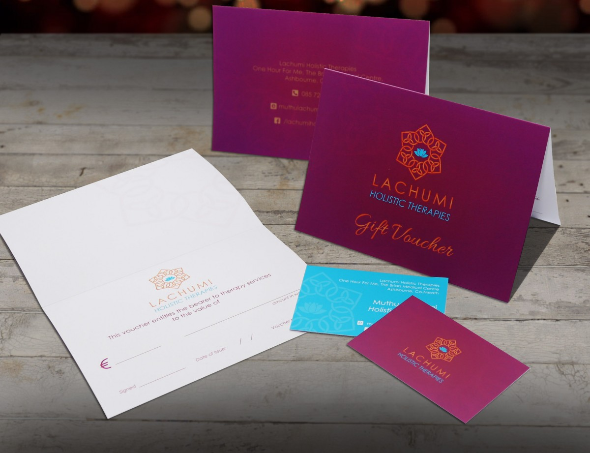 Fusion Logo Design - Lachumi Holistic Therapies