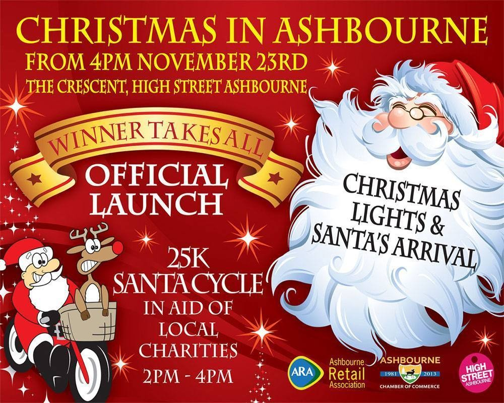TrinitySeven Studio Ltd designing Christmas in Ashbourne